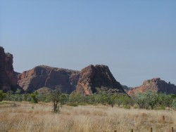 Premiers contreforts des Bungle Bungle