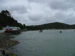 Port de pêche pittoresque de Mangonui